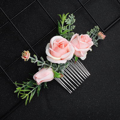 Beautiful Fabric Combs & Barrettes (Sold in single piece)