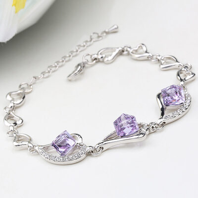 Ladies' Nice Alloy Rhinestone/Austrian Crystal Bracelets For Bridesmaid/For Friends