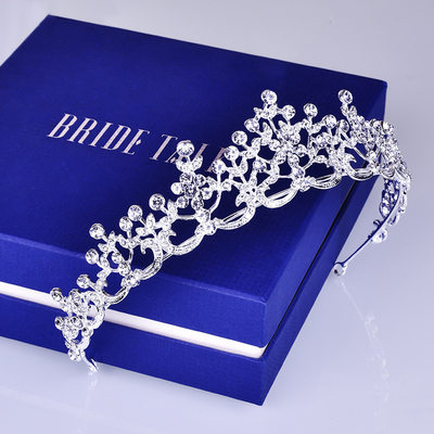 Ladies Beautiful Alloy Tiaras (Sold in single piece)