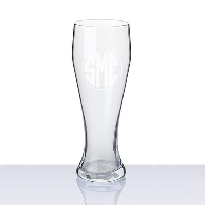 Groomsmen Gifts - Personalized Modern Glass Beer Mug