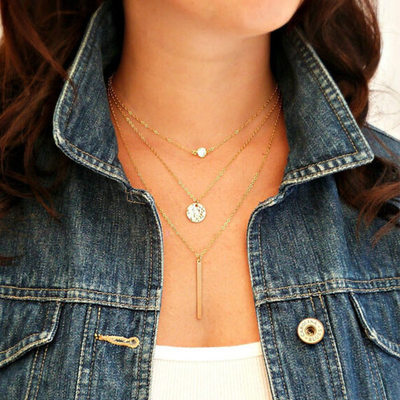 Fancy Alloy Women's Necklaces