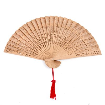 Bridesmaid Gifts - Classic Wooden Hand Fan