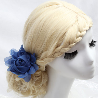 Glamourous Artificial Silk Combs & Barrettes