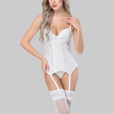 Women Sexy/Charming/Casual Polyester/Cotton/Chinlon High Waist Bodysuit/Waist Cinchers/Corset Shapewear