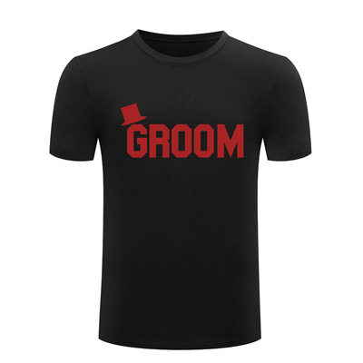 Groom Presenter - Modern Mode Bomull T-shirt