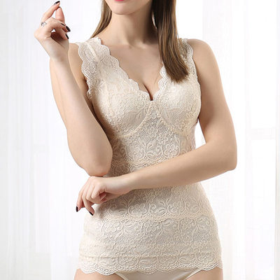 Women Sexy/Classic Silk/Lace Tanks And Camis/Corset Shapewear