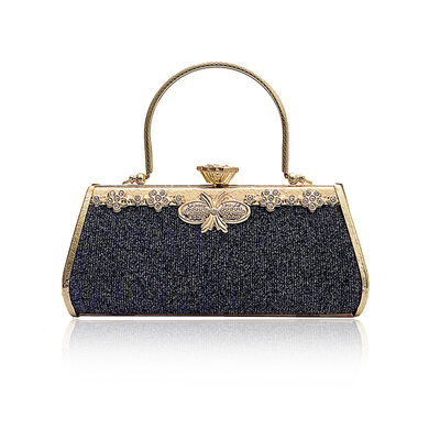 Elegant/Fashionable/Classical/Vintga Metal/Flannelette Material Evening Bags