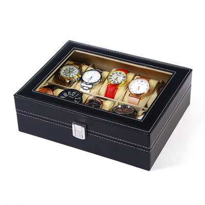 Groom Gifts - Modern Leather Watch Box