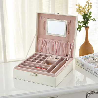 Bridesmaid Gifts - Elegant Wooden Jewelry Box