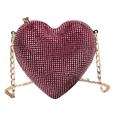 Elegant/Shining PU Clutches/Evening Bags