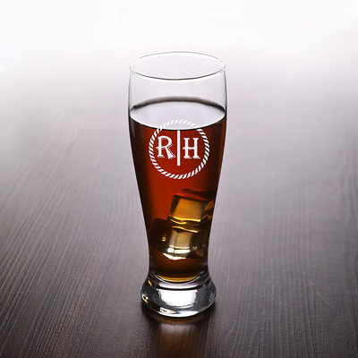 Groom Gifts - Personalized Elegant Glass Glassware and Barware