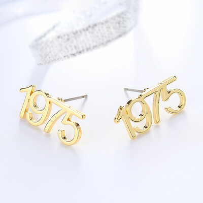 Personalized Ladies' Unique Stainless Steel Earrings For Bridesmaid/For Friends/For Her