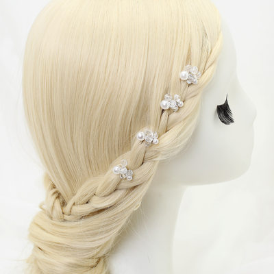 Beautiful Alloy/Imitation Pearls/Beads Hairpins