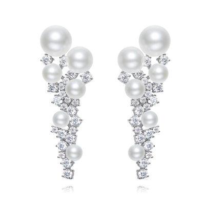 Ladies' Classic Pearl Pearl Earrings For Bride/For Bridesmaid/For Friends