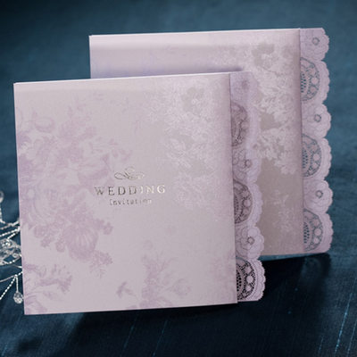 Personalized Classic Style/Modern Style Side Fold Invitation Cards