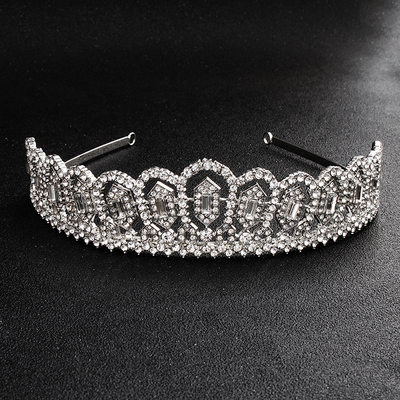 Fashion Alloy Tiaras (Sold in single piece)