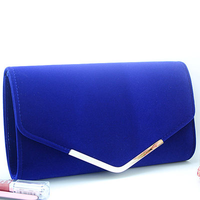 Unique Leather Cashmere Clutches