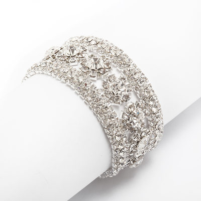 Alloy With Rhinestone Ladies' Bracelets
