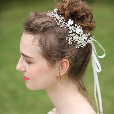 Ladies Beautiful Crystal/Rhinestone/Alloy Headbands (Sold in single piece)