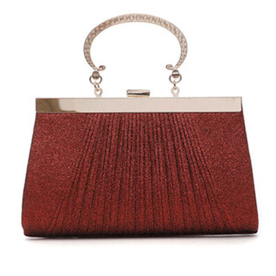Charming/Fashionable/Pretty First Layer Cowhide Clutches/Top Handle Bags/Evening Bags