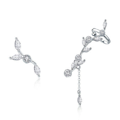 Ladies' Classic Platinum Plated Austrian Crystal Earrings For Bride/For Bridesmaid/For Friends