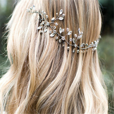 Elegant Rhinestone Headbands (Sold in single piece)