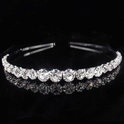 Ladies Beautiful Alloy Tiaras/Headbands With Rhinestone (Sold in single piece)