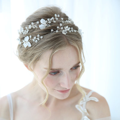 Classic Crystal/Rhinestone Headbands With Rhinestone/Crystal (Sold in single piece)