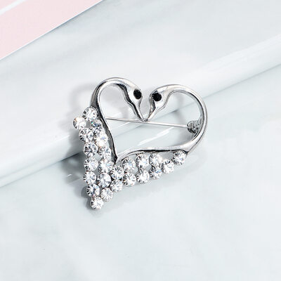 Ladies' Elegant Rhinestones Brooch For Bride/For Bridesmaid/For Mother/For Friends/For Couple
