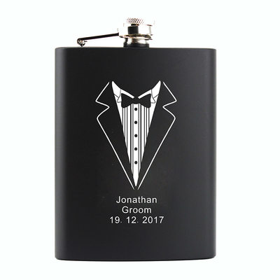 Groom Gifts - Personalized Fashion Stainless Steel Flask