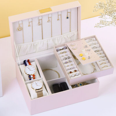 - Fascinating Delicate Pu Jewelry Box Jewelry Holder