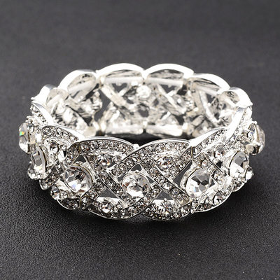 Unique Alloy/Rhinestones Ladies' Bracelets