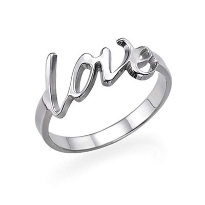 Personalized Classic S925 Sliver Rings For Bridesmaid/For Mother/For Friends/For Couple