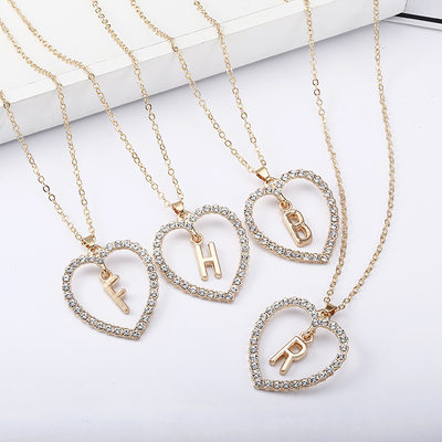 Elegant Alloy Initial Necklaces Necklaces