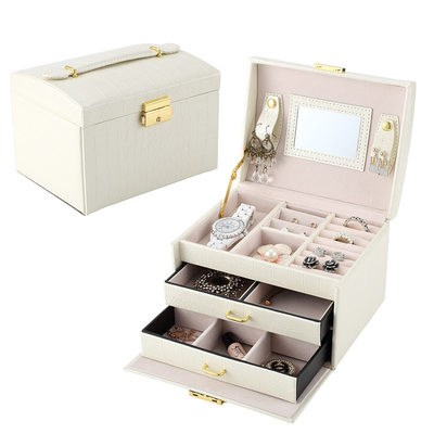 Bride Gifts - Pu Jewelry Box