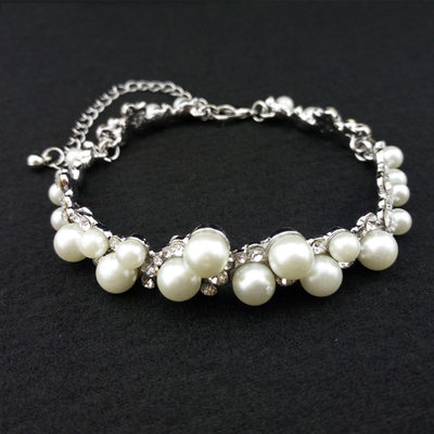 Classic Alloy/Rhinestones/Imitation Pearls Ladies' Bracelets