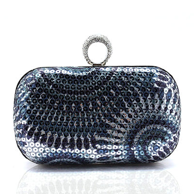 Charming Sequin/Polyester Clutches/Minaudiere