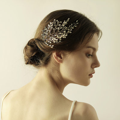 Elegant Alloy/Plastic Hairpins (Sold in single piece)