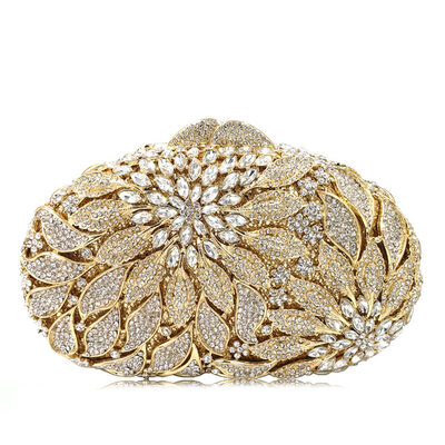 Refined/Pretty/Attractive Metal Clutches/Bridal Purse/Luxury Clutches/Evening Bags