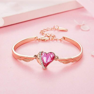 Ladies' Beautiful Crystal/Copper Crystal Bracelets For Bride/For Bridesmaid/For Mother/For Her