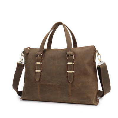 Groom Gifts - Classic Leather Briefcase