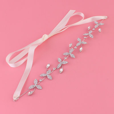Ladies Glamourous Rhinestone/Alloy Headbands