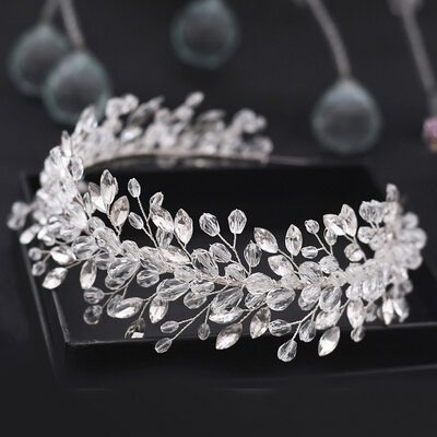 Ladies Beautiful Crystal/Rhinestone Headbands With Rhinestone (Sold in single piece)