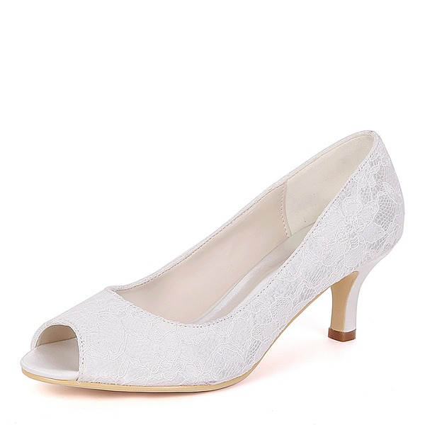 Women's Lace Stiletto Heel Pumps With Others