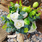 Classic Hand-tied Satin/Lace/Linen/Artificial Flower Bridal Bouquets/Bridesmaid Bouquets (Sold in a single piece) - Bridal Bouquets/Bridesmaid Bouquets
