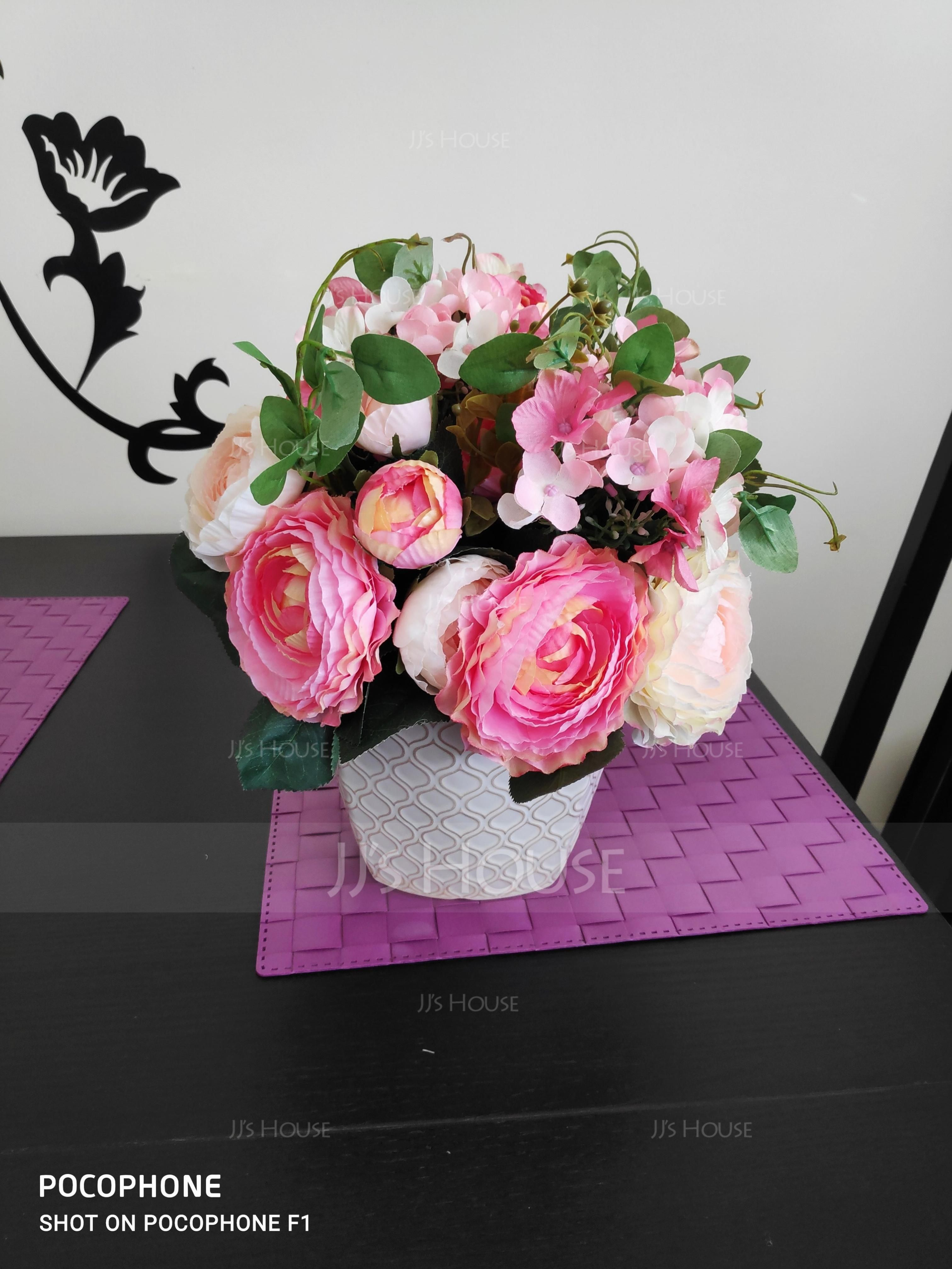 シンプル/クラシック 美しい花 シルクフラワー 人工花