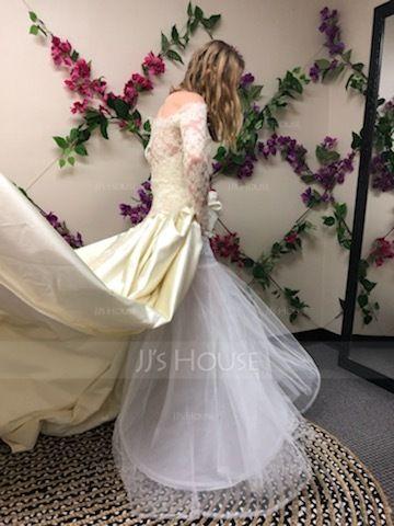 Women Nylon/Tulle Netting Ankle-length 2 Tiers Petticoats (037005373)