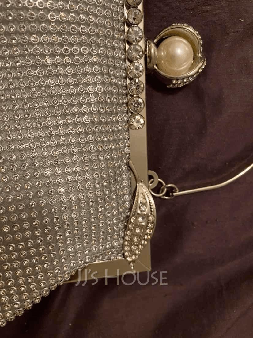 Elegant/Charming/Pretty Crystal/ Rhinestone With Crystal/ Rhinestone Clutches/Evening Bags