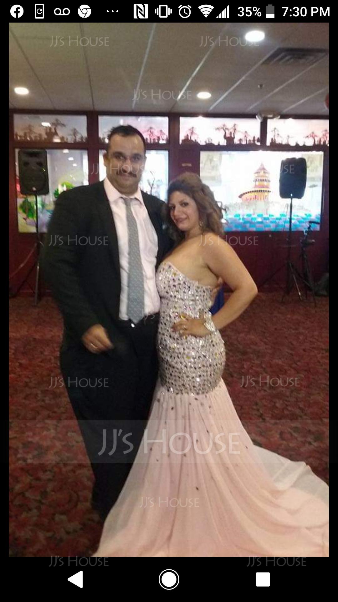 A-Line/Princess V-neck Floor-Length Chiffon Prom Dresses With Beading Split Front (272186186)
