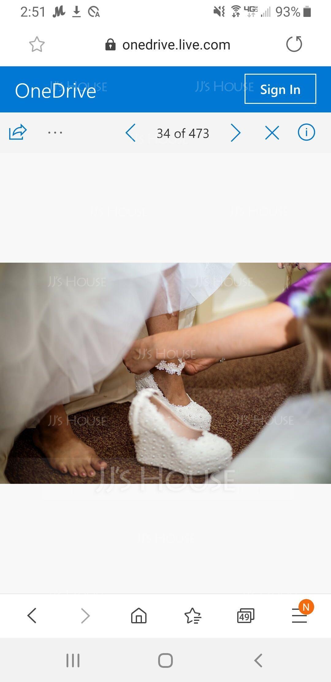 女性用 レザーレット ウエッジヒール クローズド足 プラットフォーム パンプス ウェッジ メリージェーン とともに バックル イミテーションパール ラインストーン アップリケ (047144236)